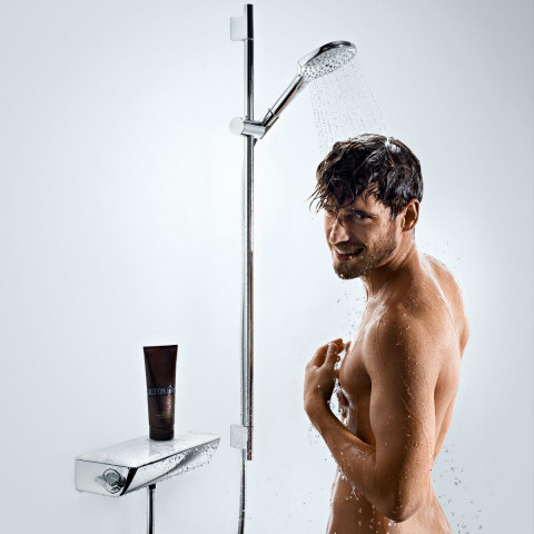 Hansgrohe Ecostat Select With Raindance Select E 120 3 Jet Hand Shower