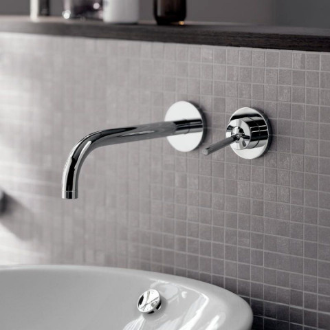 AXOR Uno Wall Mounted Single Lever Basin Mixer