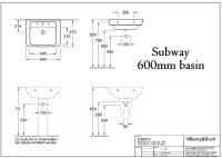 Villeroy & Boch Subway(Soho) Washbasin