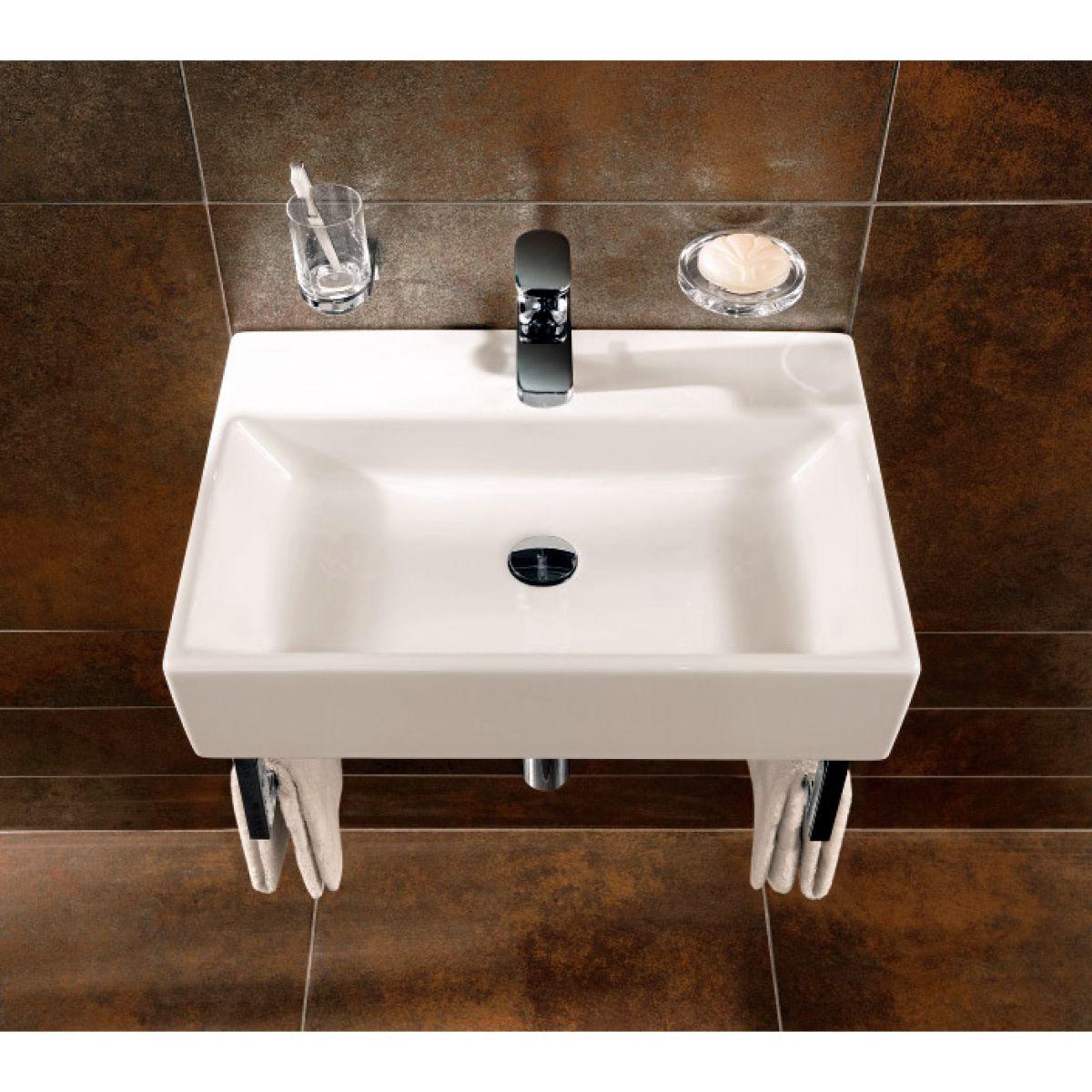 Villeroy & Boch Memento 500mm Washbasin | Bathrooms Direct Yorkshire