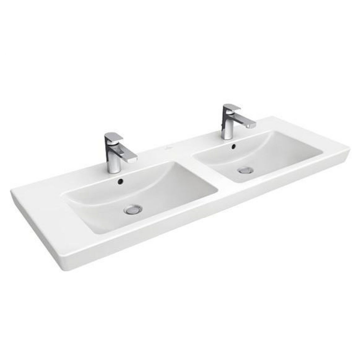 Villeroy & Boch Subway 2.0 Double Vanity Washbasin