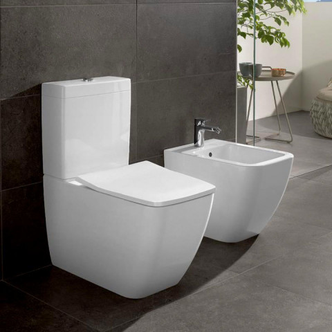 Villeroy & Boch Venticello Rimless Close Coupled Toilet