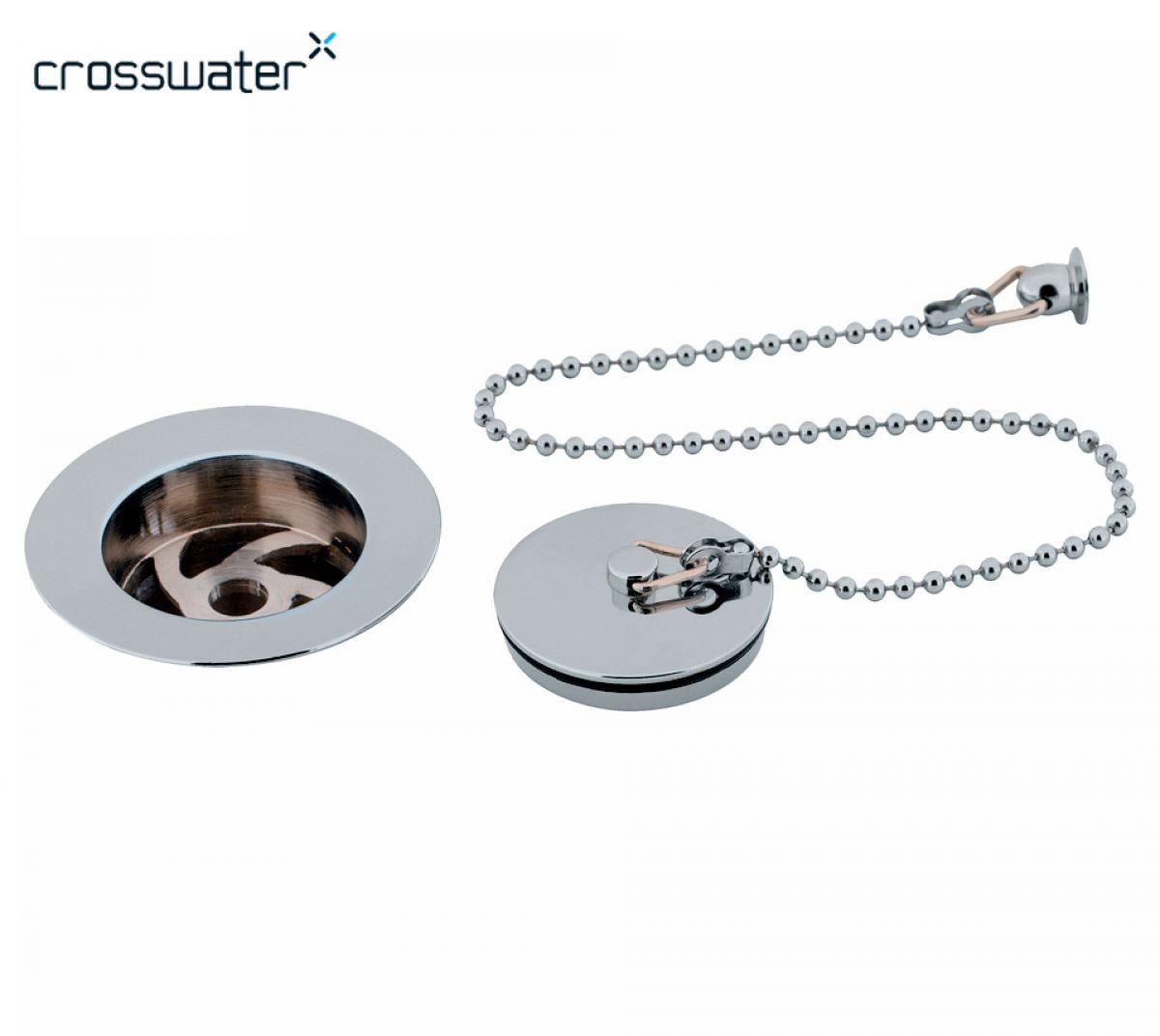 Crosswater Plug & Chain Basin Waste