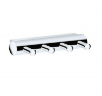 Keuco Plan Towel Hook Panel - With 4 Hooks
