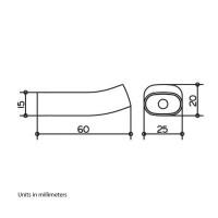 Keuco Edition 400 Single Towel Hook