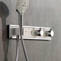 Hansgrohe RainSelect Concealed Valve For 3 Outlets