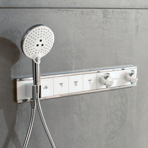 Hansgrohe RainSelect Concealed Valve For 4 Outlets
