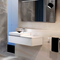 Geberit Icon One Drawer Vanity Unit For 500mm Washbasin