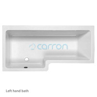 Carron Quantum Shower Bath With Screen & Bath Panel