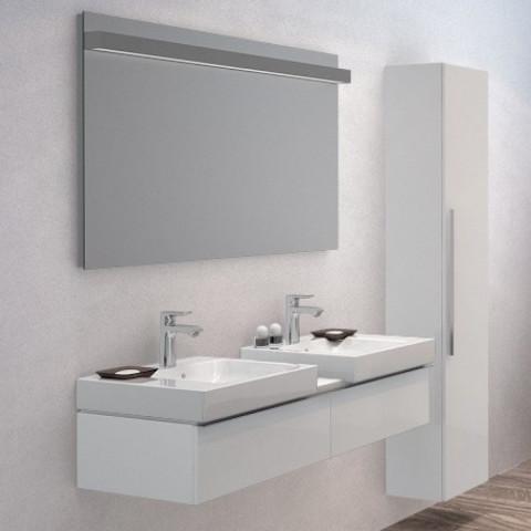 Geberit Icon Double Vanity Unit For Two 500mm Washbasins