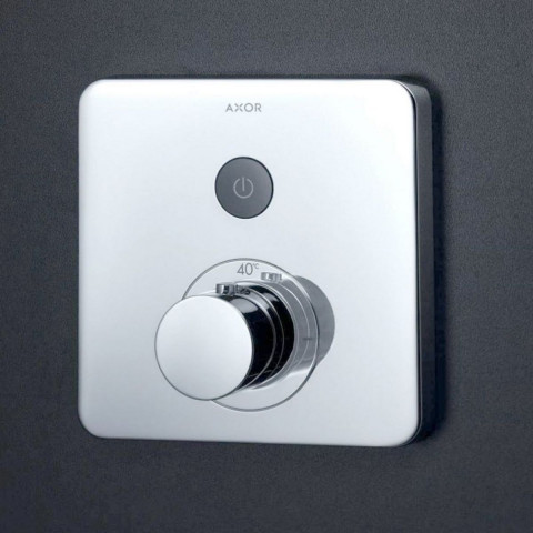 AXOR ShowerSelect Soft Thermostatic Mixer 1 Outlet