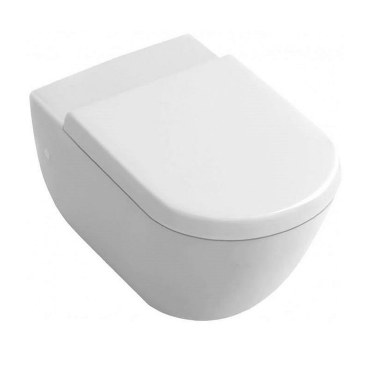 Abacus Bathrooms Simple Wall Hung Toilet