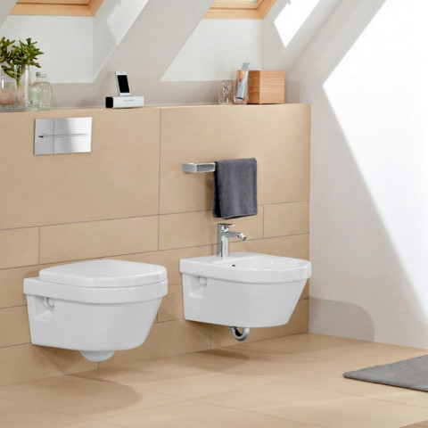 Abacus Bathrooms D-Style Wall Hung Toilet