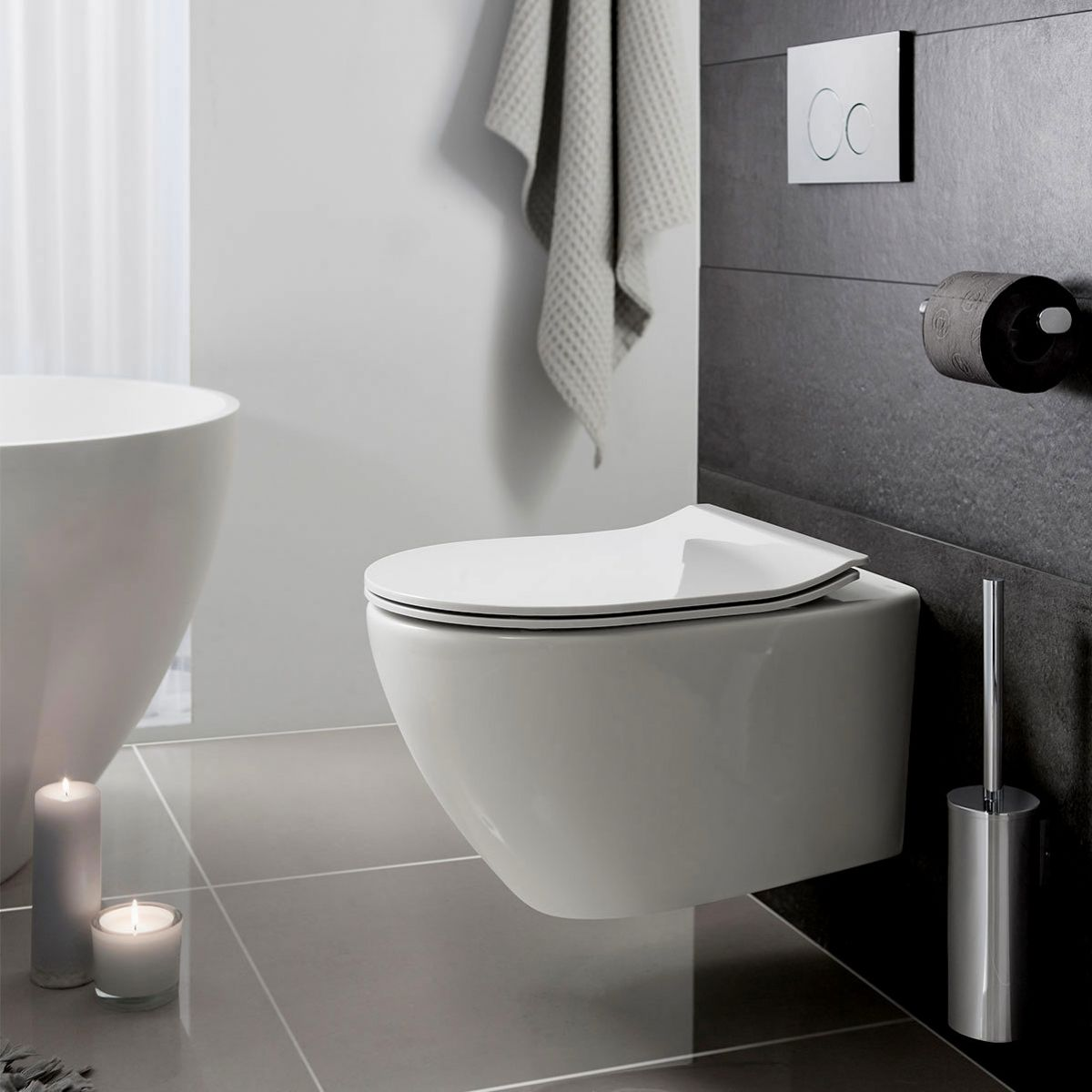 Bauhaus Svelte Wall Hung Toilet Bathrooms Direct Yorkshire