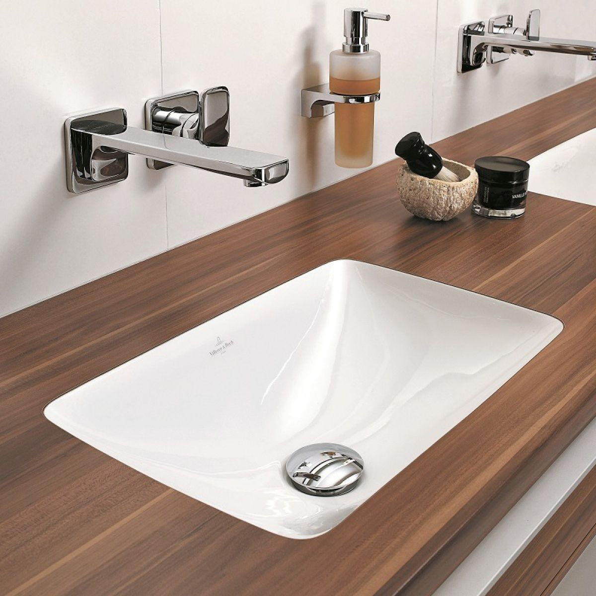 Villeroy & Boch Loop & Friends Rectangle Undercounter Washbasin