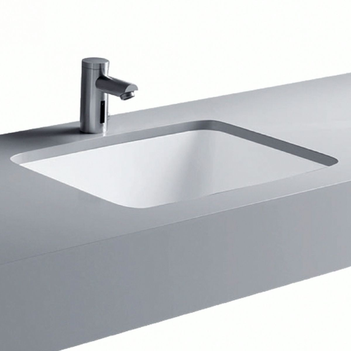 Geberit Smyle Square Under Countertop Washbasin