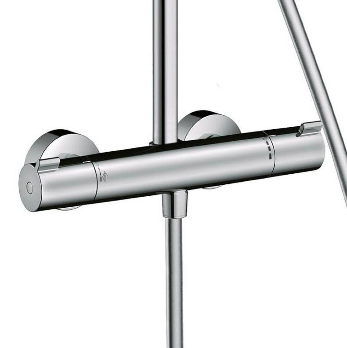 hansgrohe crometta s 240 1 jet showerpipe bathrooms. Black Bedroom Furniture Sets. Home Design Ideas