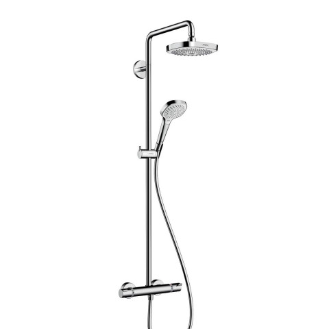 Hansgrohe Croma Select E 180 2 Jet Showerpipe Set