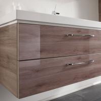 Pelipal Balto 1482mm Double Vanity Unit & Washbasin