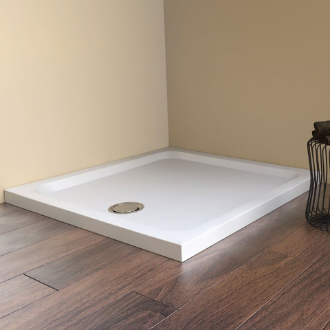 Matki Fineline 60 Square Shower Tray