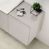 Geberit Acanto Low Cabinet With One Drawer & Internal Drawer
