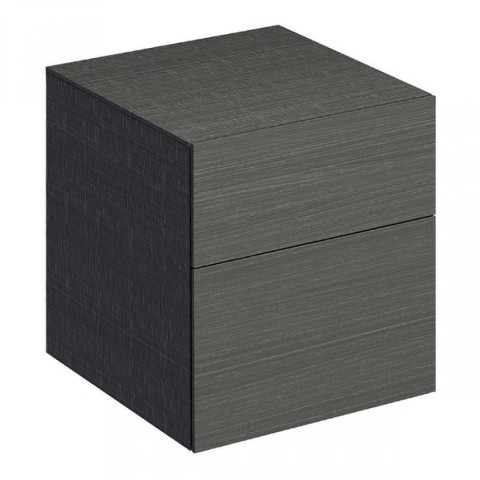 Geberit Xeno2 450mm Side Cabinet With Two Drawers