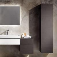 Geberit Xeno2 Tall Storage Cabinet With Internal Mirror
