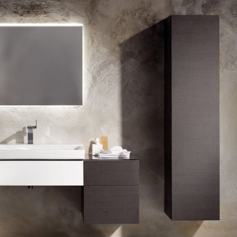 Geberit Xeno2 Tall Storage Cabinet With Internal Mirror