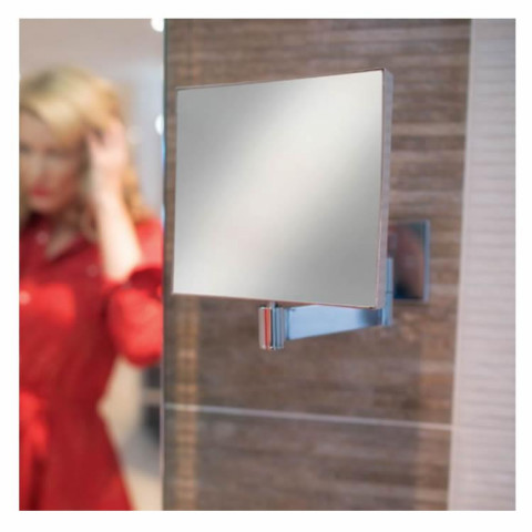 HIB Helix Square Cosmetic Mirror
