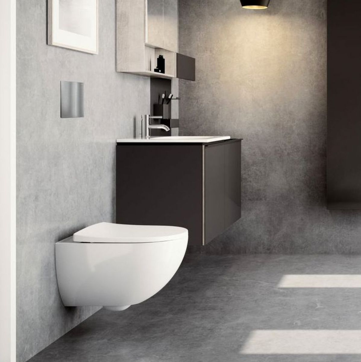 Geberit Acanto Vanity Unit With Slim Basin Bathrooms Direct Yorkshire