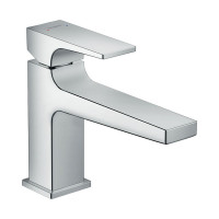 Hansgrohe Metropol Basin Mixer 100 With Lever Handle & Push Open Waste