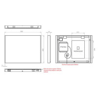 HIB Connect 80 LED Bluetooth Mirror