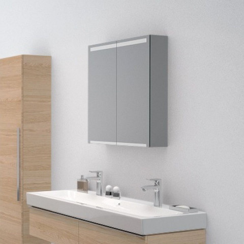 Geberit Option Two Door Mirror Cabinet