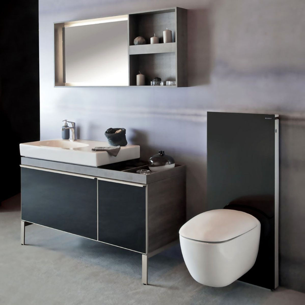 Geberit Citterio 1350mm Mirror With Ambient Lighting With