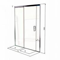 Matki Eauzone Plus Sliding Door For Recess (EPSR)