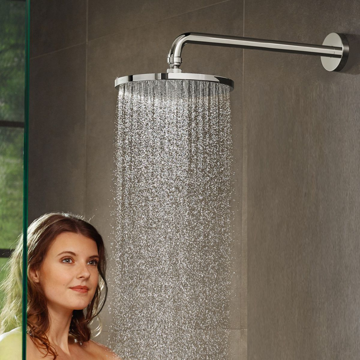 Hansgrohe Raindance S 240 Overhead Shower 1 Jet & Arm PowderRain