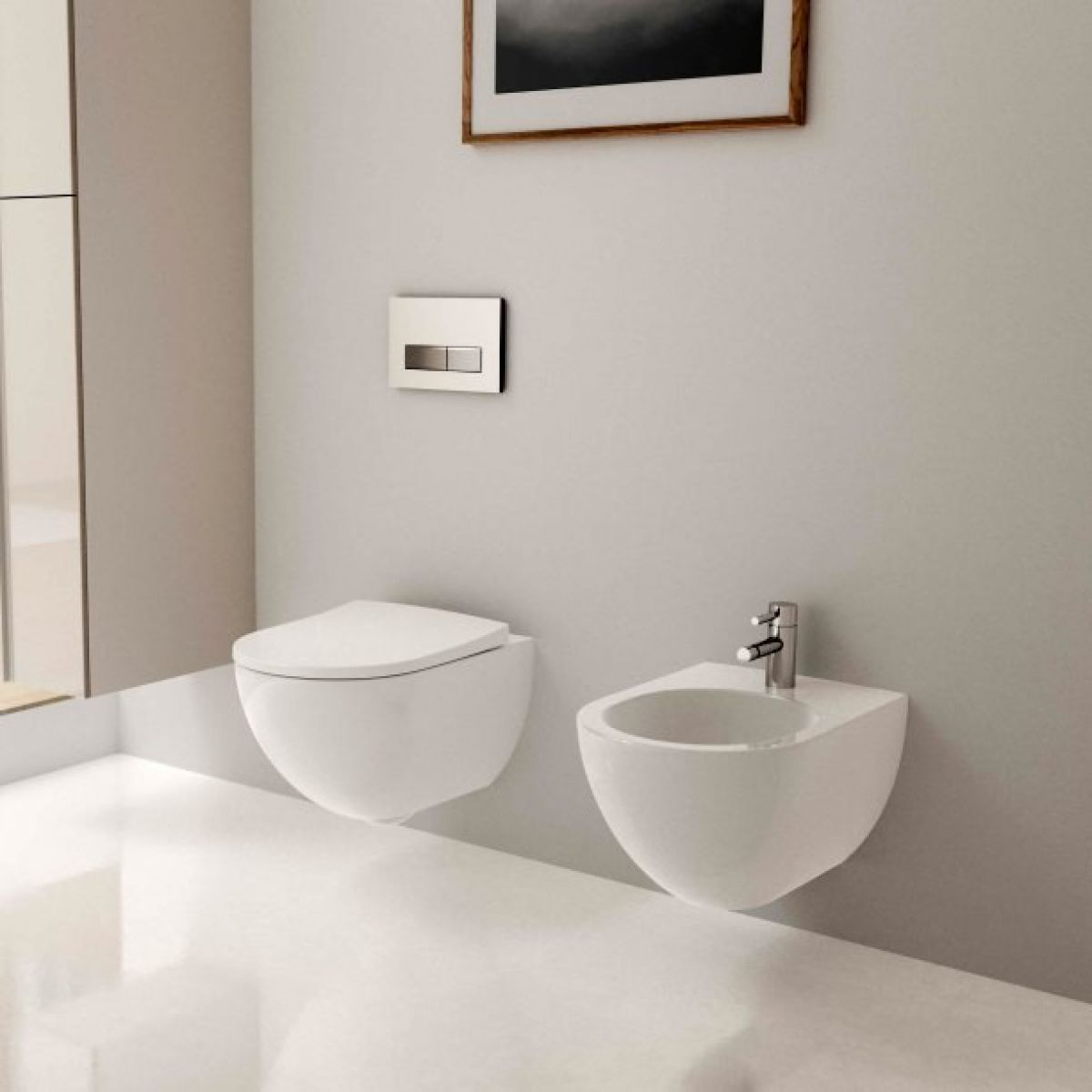 Geberit Acanto Wall Hung Toilet Rimfree