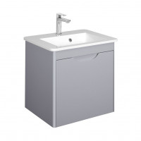 Bauhaus Solo Vanity Unit With Mineral Marble Washbasin