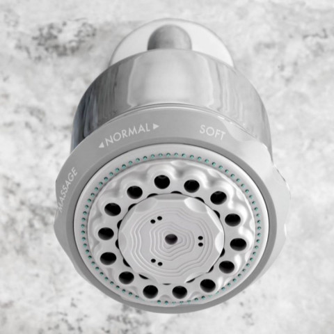 Hansgrohe Clubmaster 3 Jet Overhead Shower With Arm