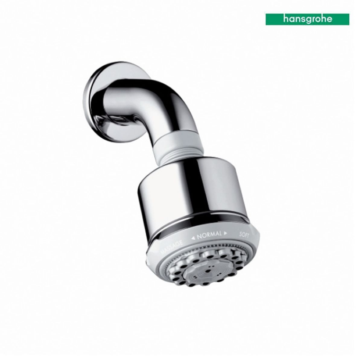 Hansgrohe Clubmaster 3 Jet Overhead Shower With Arm | Bathrooms ...