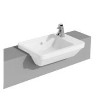 Vitra S50 Compact Square Semi Recessed Washbasin