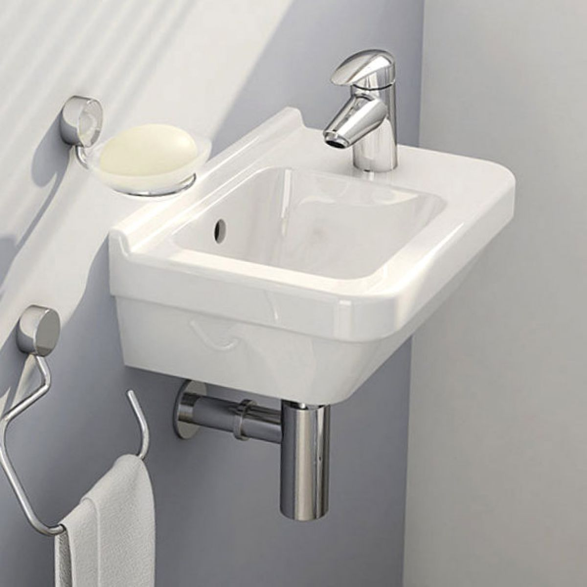 Vitra S50 Compact Cloakroom Basin