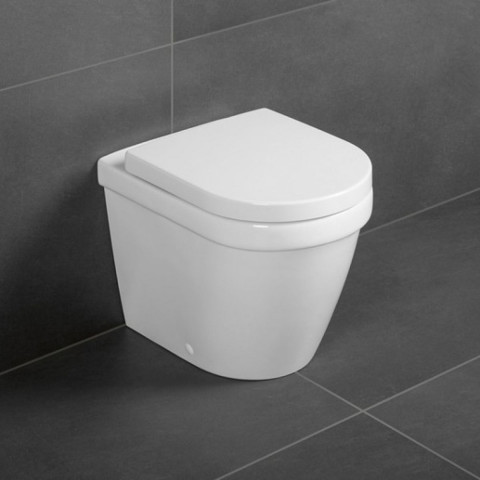 Villeroy U0026 Boch Architectura Rimless Back To Wall Toilet