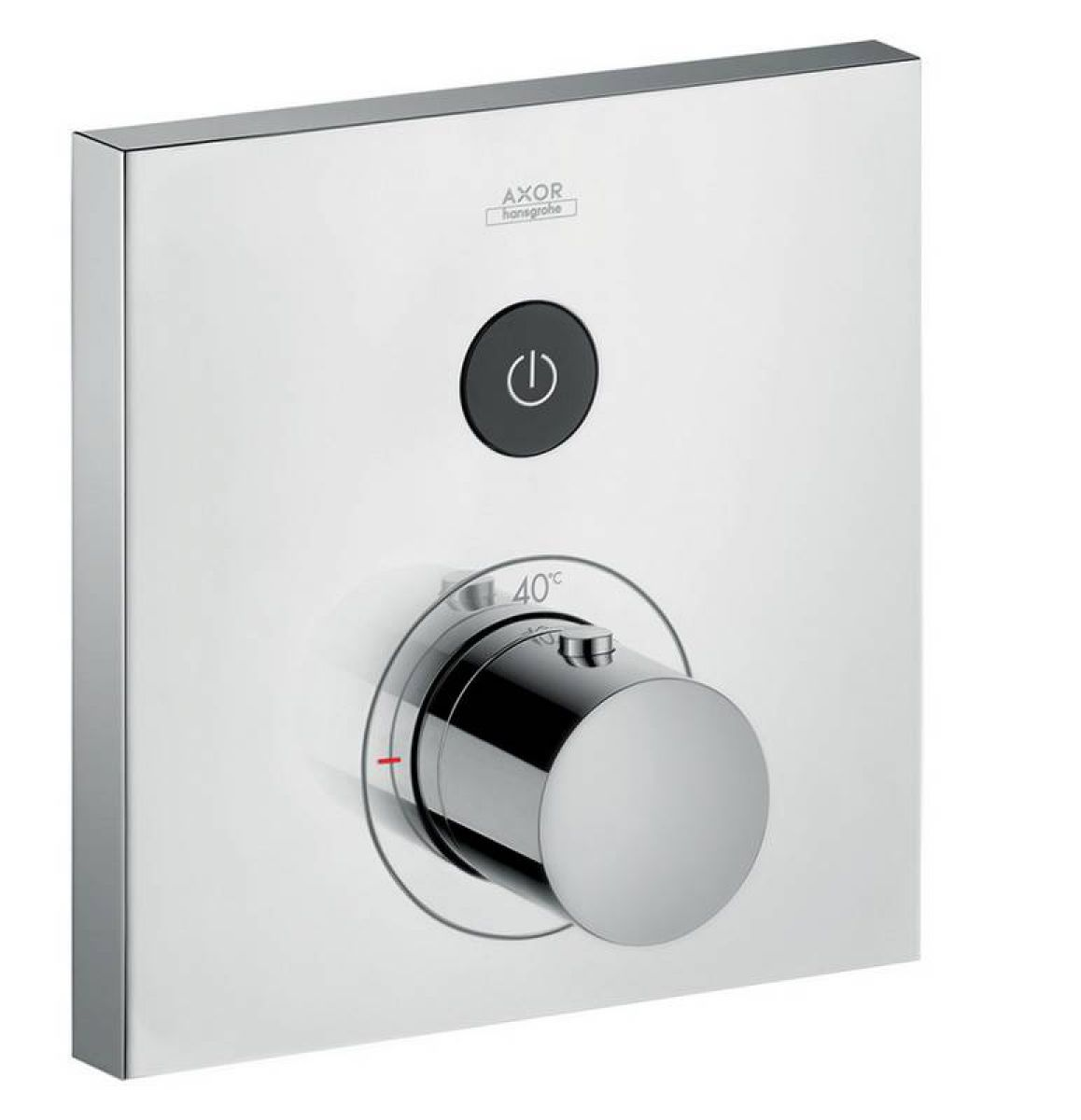 AXOR ShowerSelect Square Thermostatic Mixer 1 Outlet