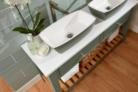 Burbidge Langton Double Washstand & Worktop