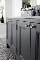 Burbidge Tetbury 4 Door Vanity Unit & Worktop With Integral Basins