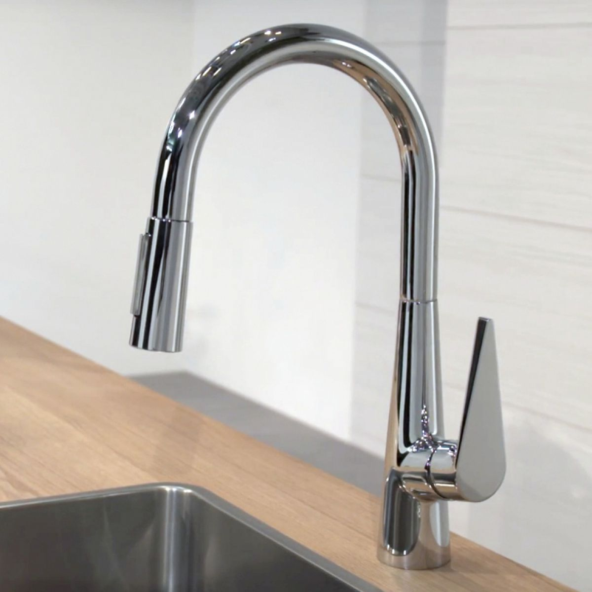 Outstanding Hansgrohe Talis S 200 Kitchen Mixer Tap With Pull Out Spray Download Free Architecture Designs Intelgarnamadebymaigaardcom