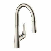 Hansgrohe Talis S 200 Kitchen Mixer Tap With Pull-Out Spray