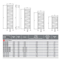 Zehnder Ribbon Towel Radiator