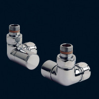 Bisque Manual Double Angled Valve Set 28